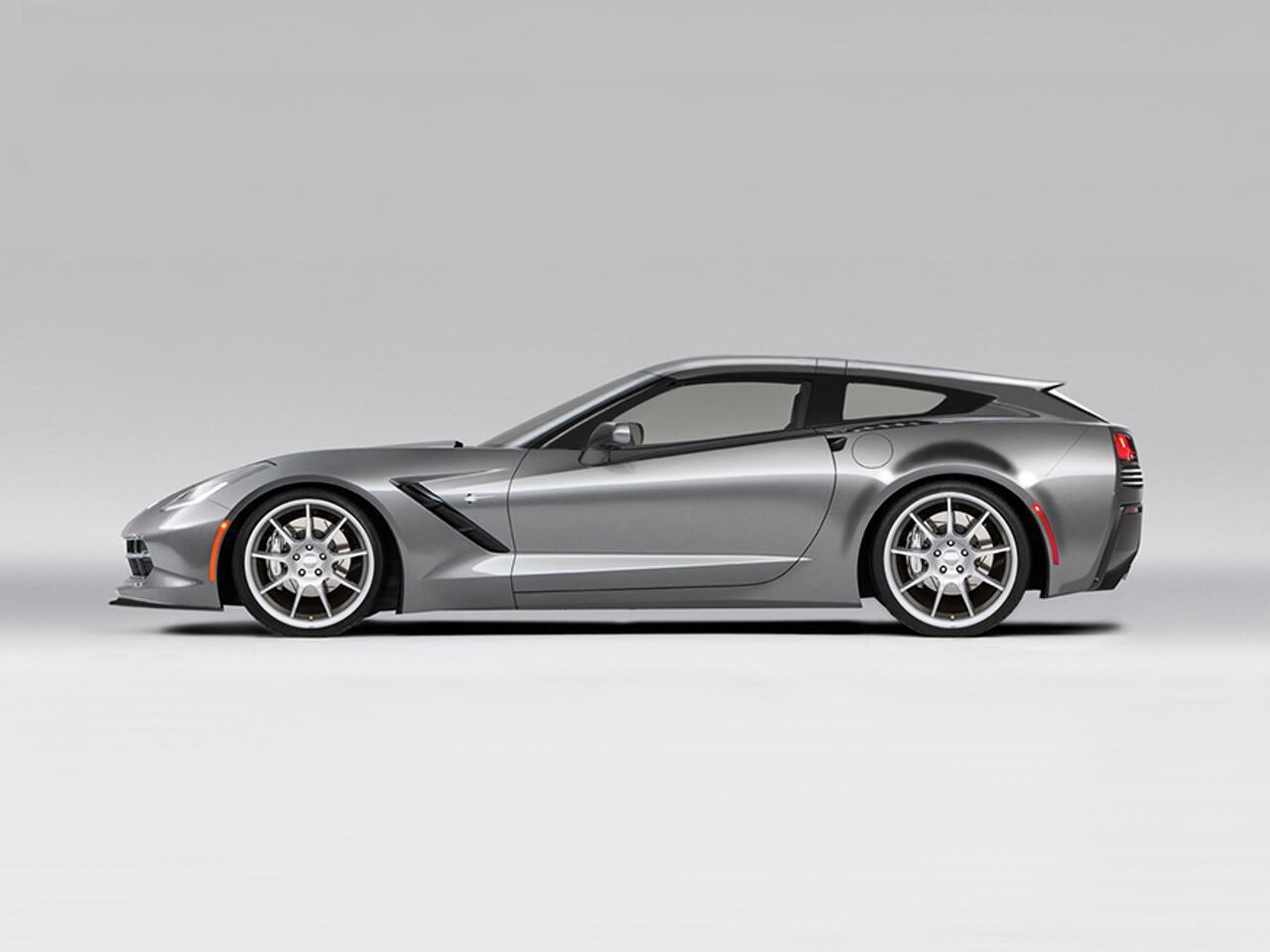 Bild zu Callaway Aerowagon: Corvette mit neuer Heckpartie