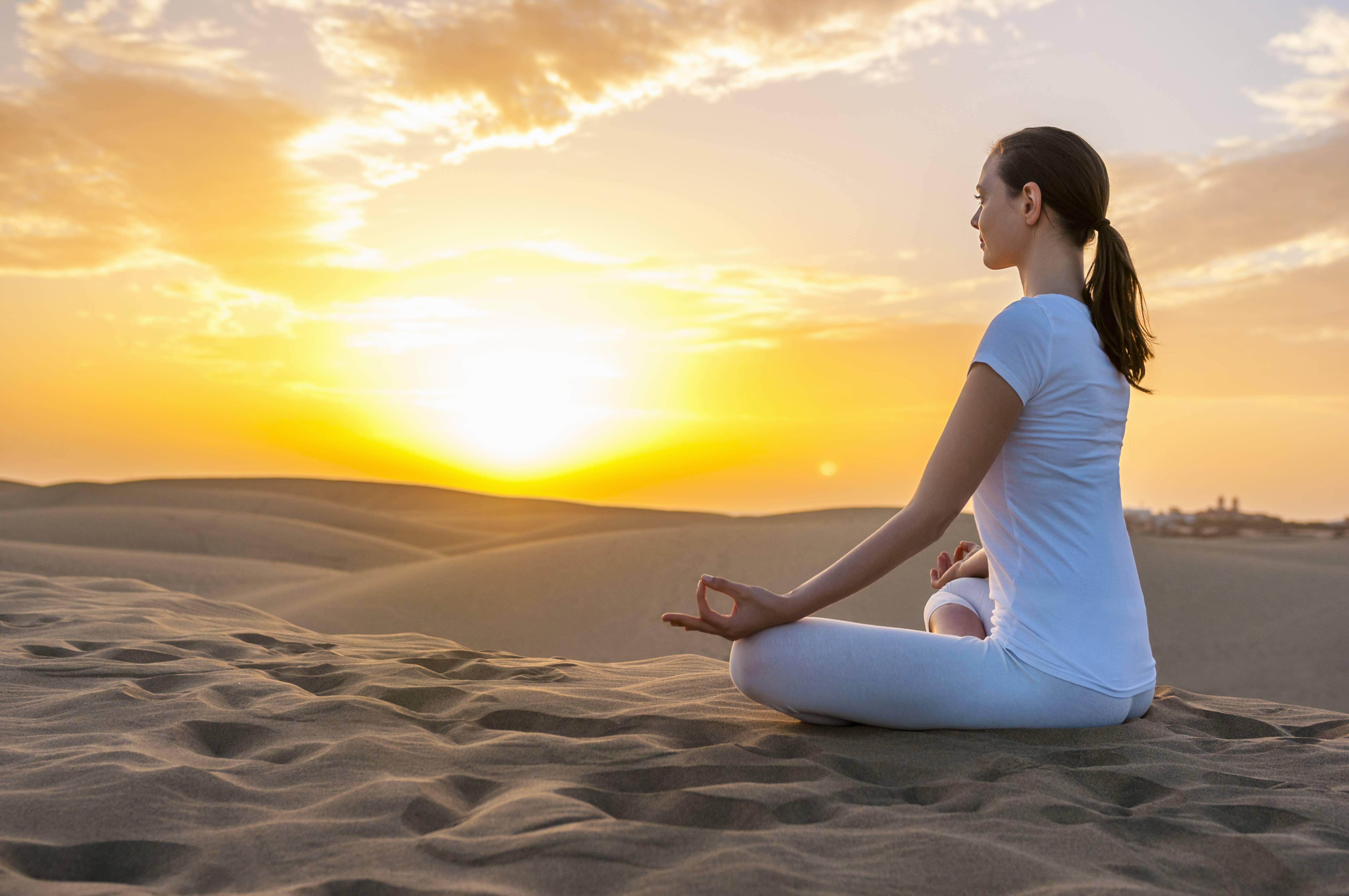 Bild zu meditieren rituale morgen