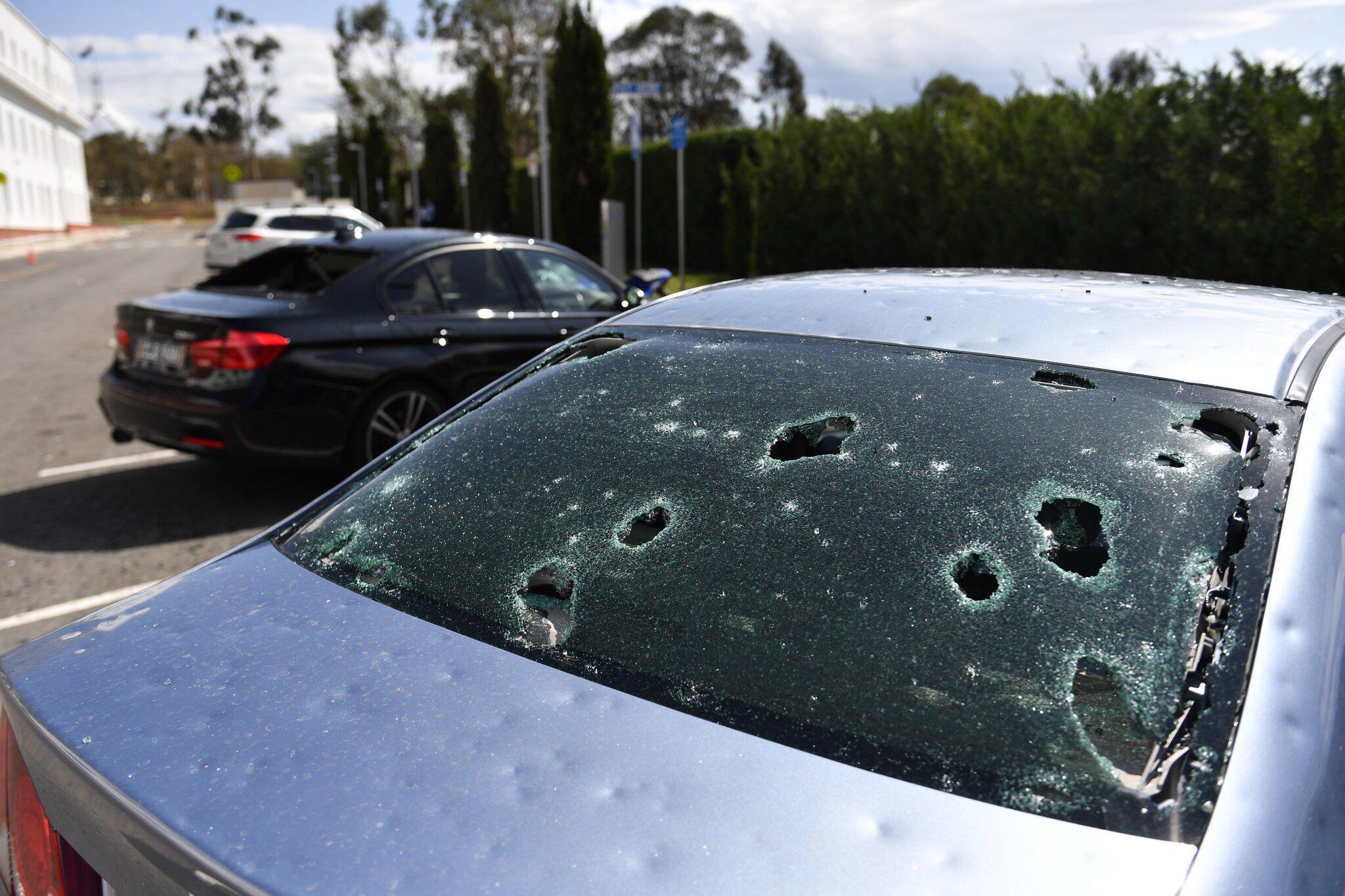 Bild zu Hagel und Unwetterwarnung in Australien