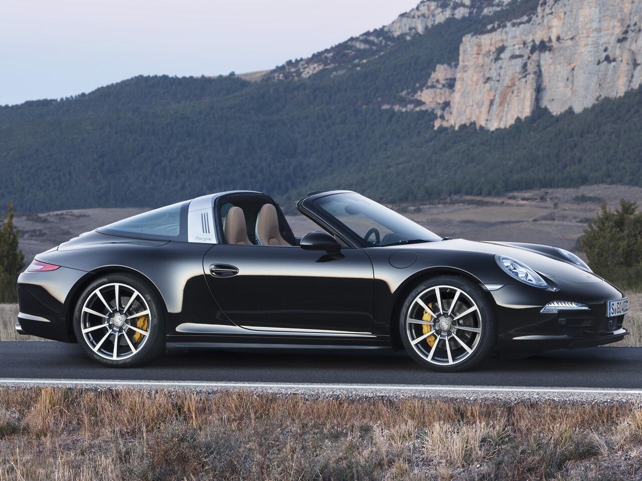 Bild zu Porsche 911 Targa mit Schiebedach