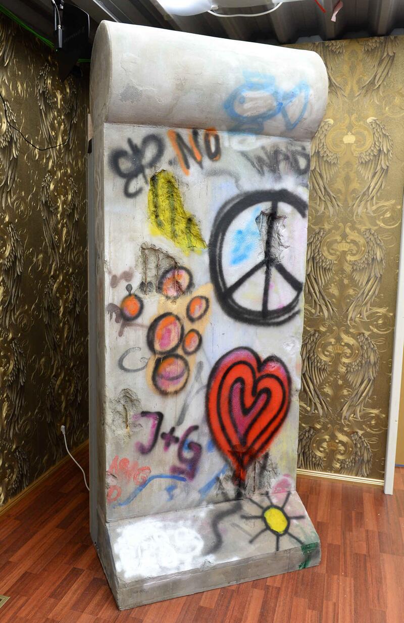 """Bild zu """"Promi Big Brother"""": die Berliner Mauer"""