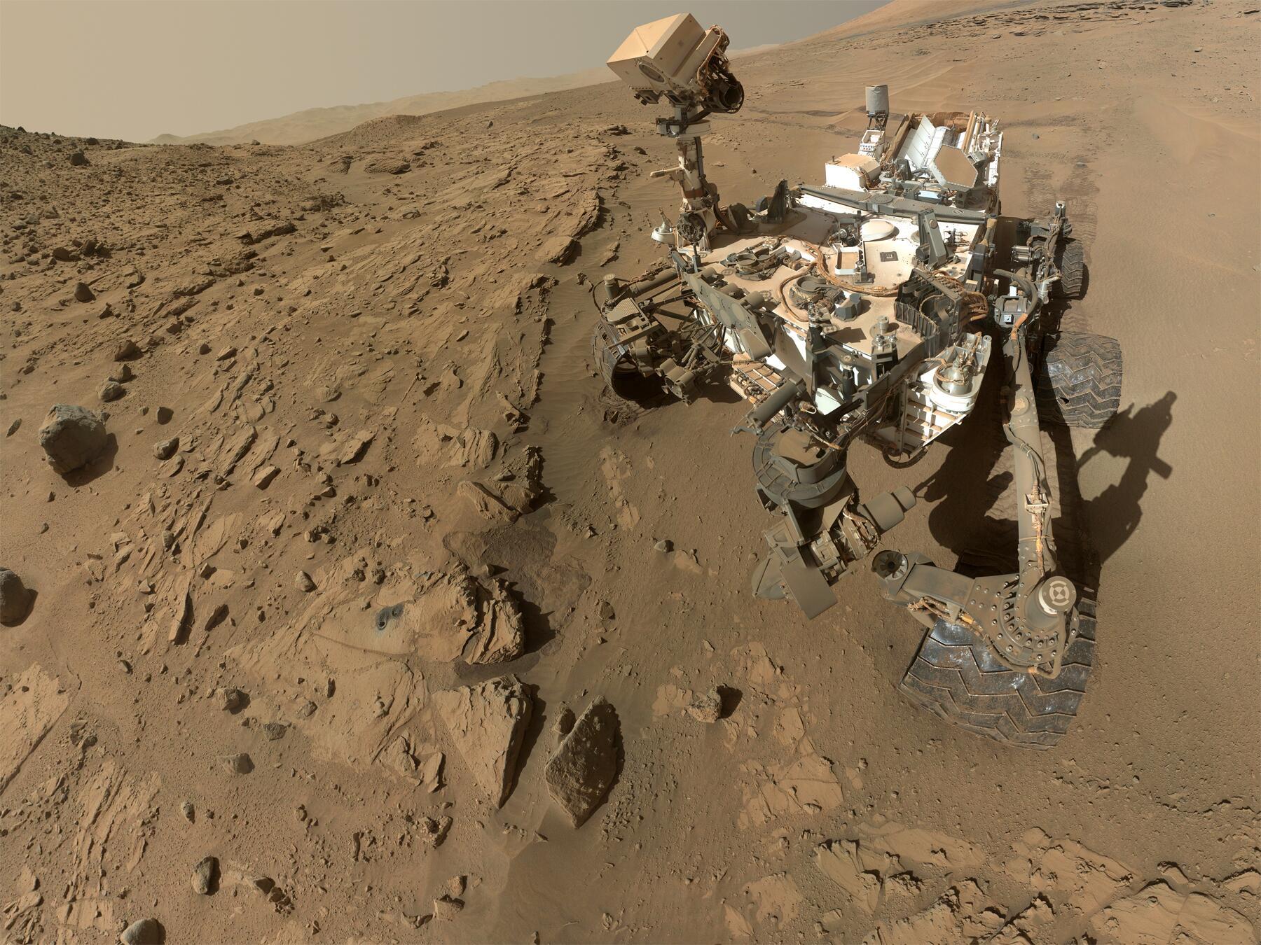 Wie viele bakterien hat rover curiosity zum mars gebracht