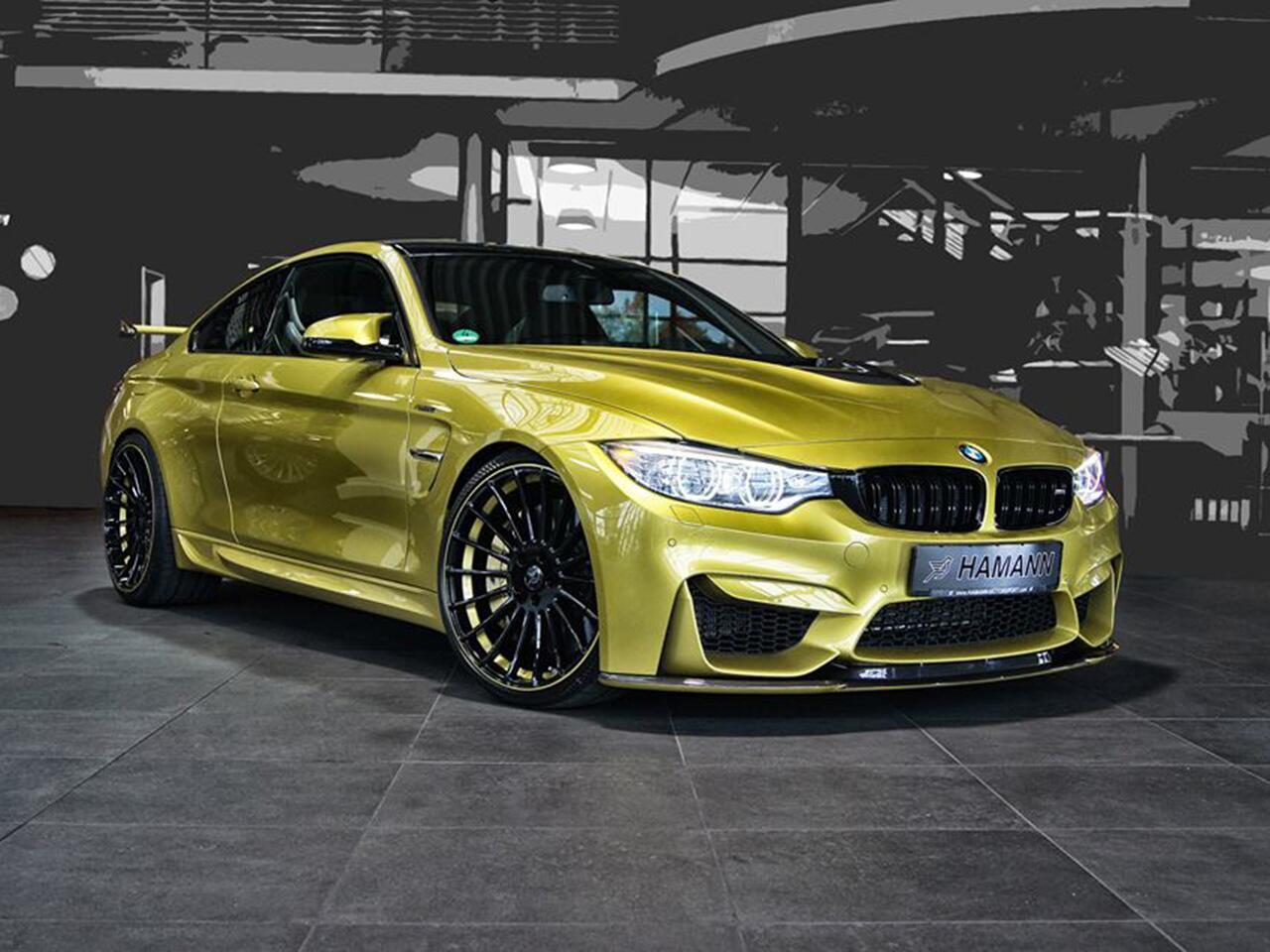 Bild zu Goldige Aussichten: BMW M4 glänzt nach Aerodynamik-Tuning
