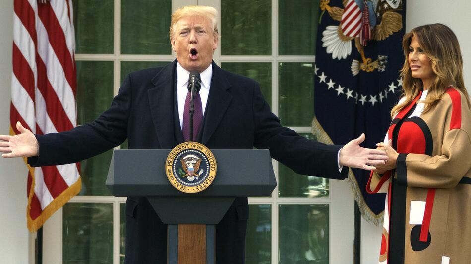 Begnadigung der Thanksgiving-Truthähne im Weißen Haus
