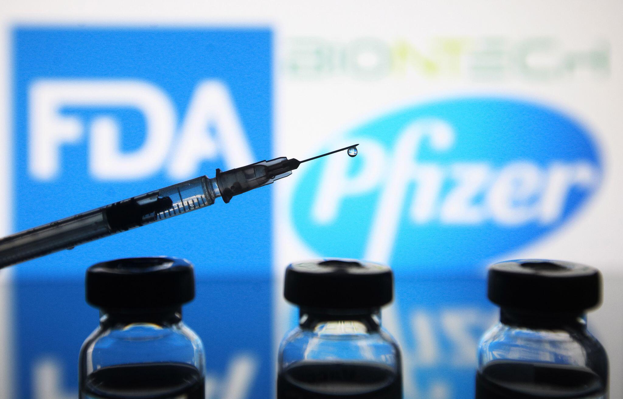 Bild zu Coronavirus - USA - Biontech/Pfizer-Impfstoff