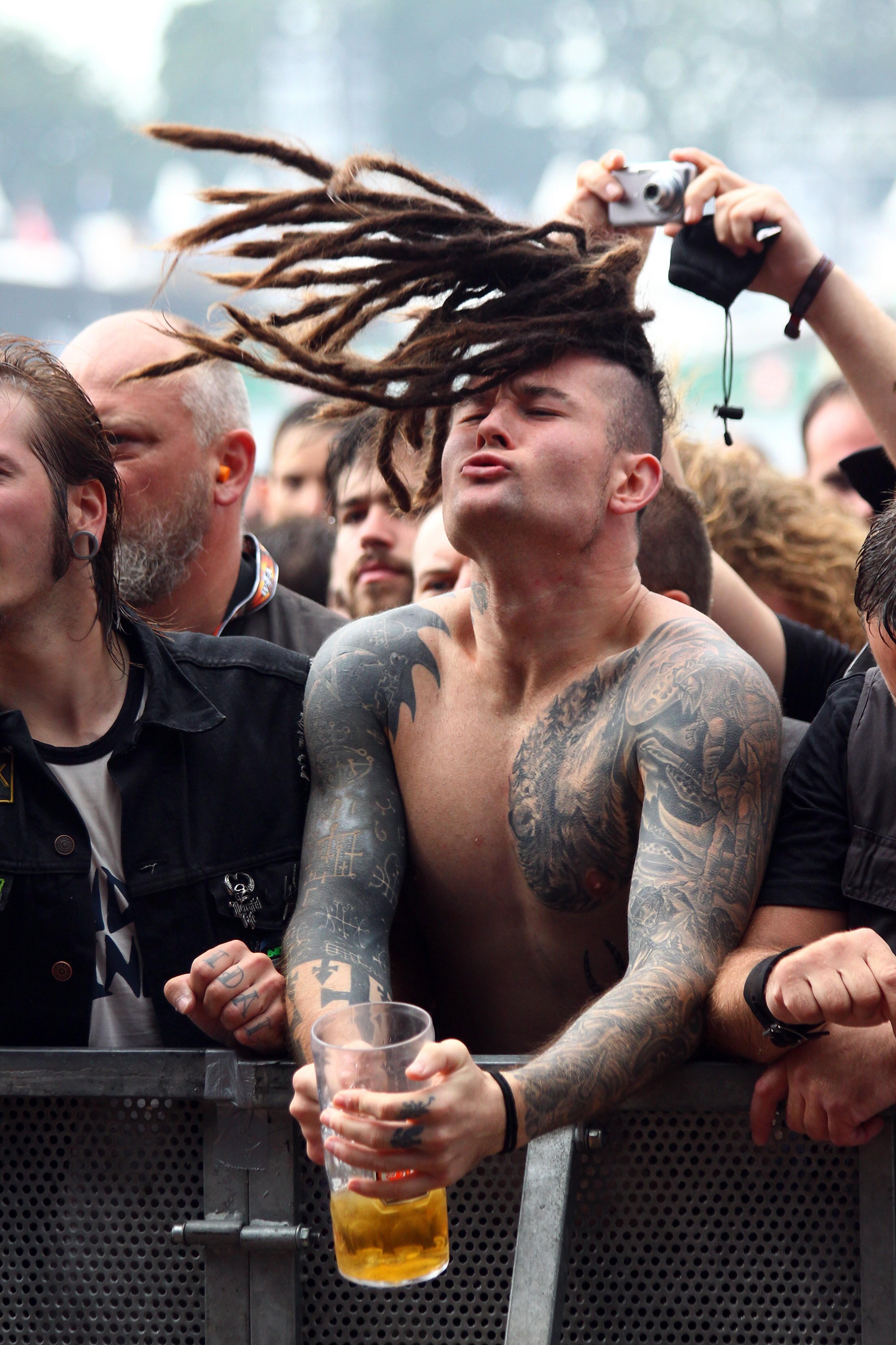Bild zu Wacken-Fans