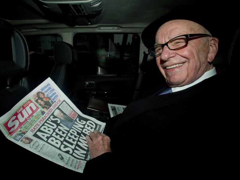 Bild zu Rupert Murdoch