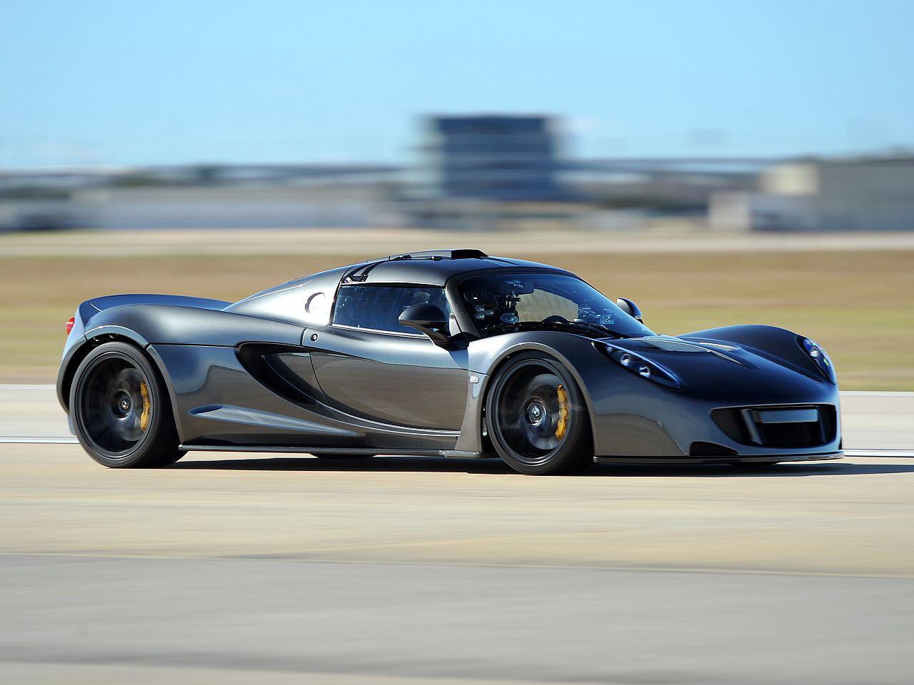 Bild zu Hennessey Venom GT: Schnellster Sprinter auf 300 Stundenkilometer