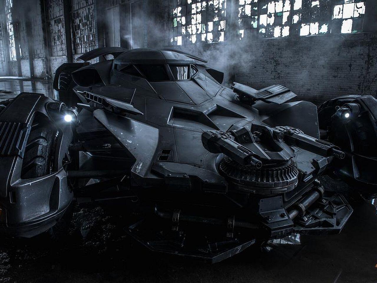 Bild zu Batmobil