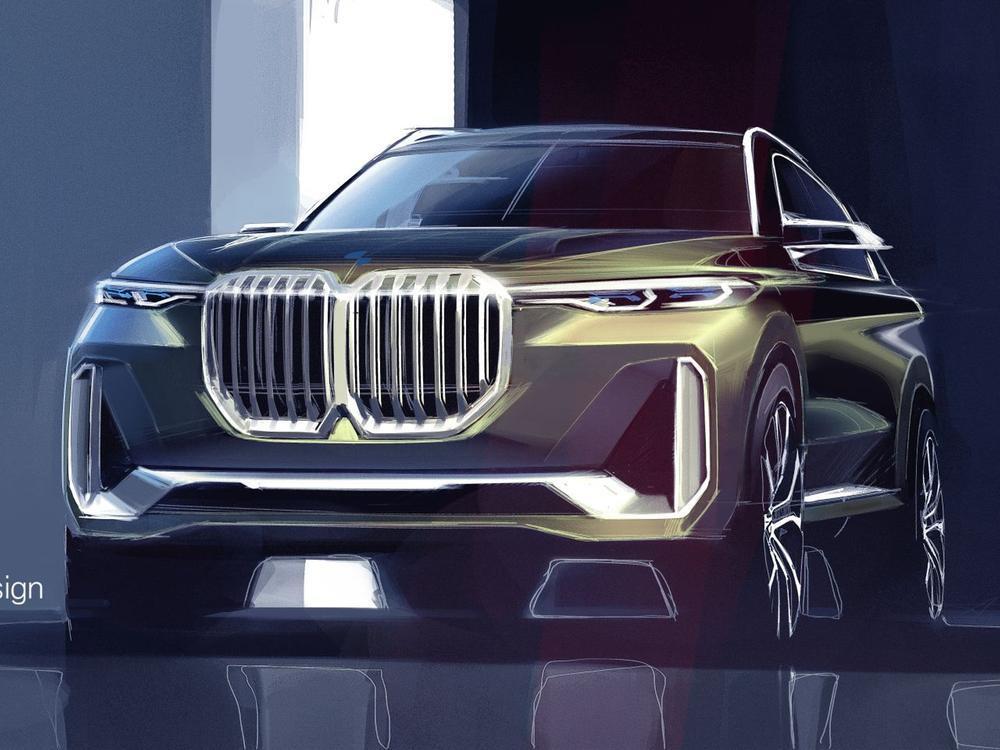 Bild zu Konzeptzeichnung BMW X7