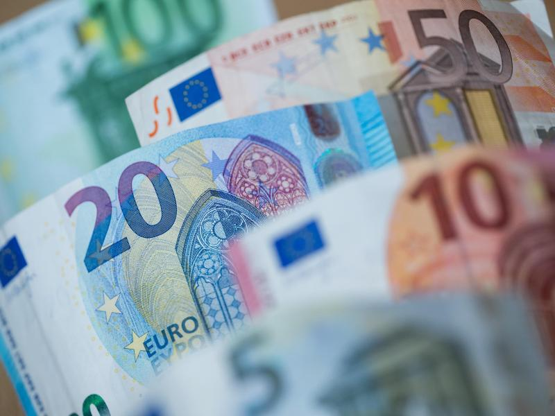 Bild zu Euro-Scheine