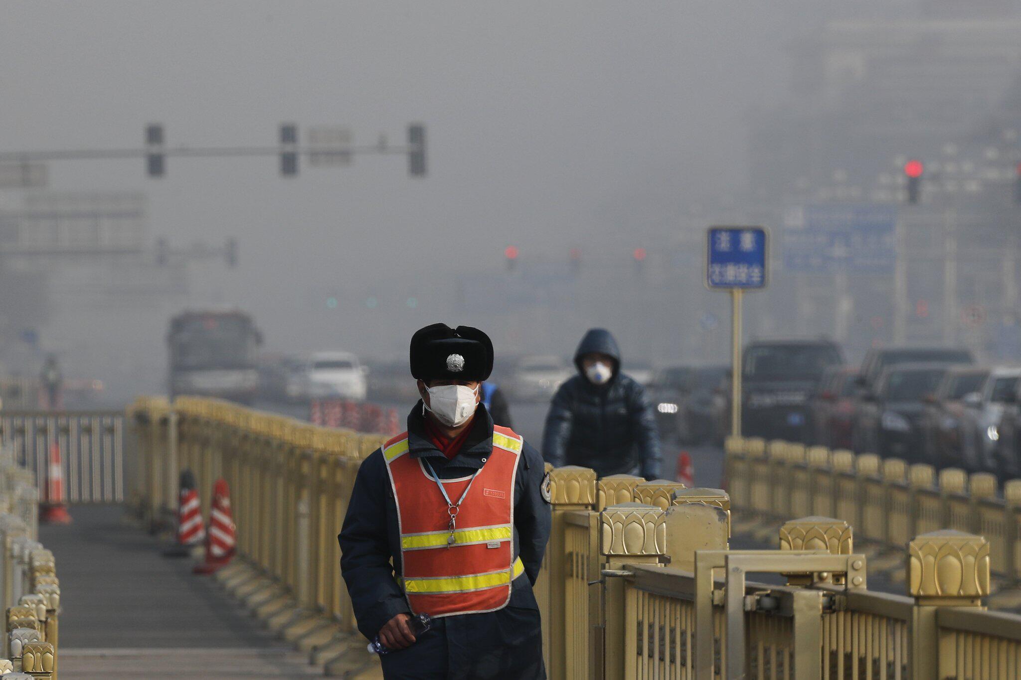 Bild zu Smog in Peking