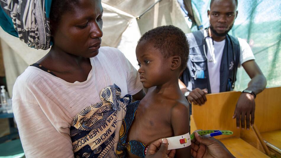 Mosambik Mangelernährung