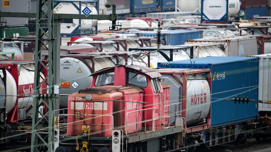 Lokführer-Streik im Güterverkehr - Nordrhein-Westfalen