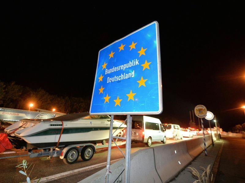 Bild zu Grenzkontrollen
