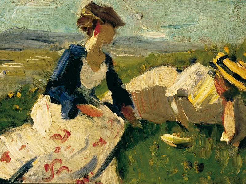 Bild zu Gemälde von Franz Marc