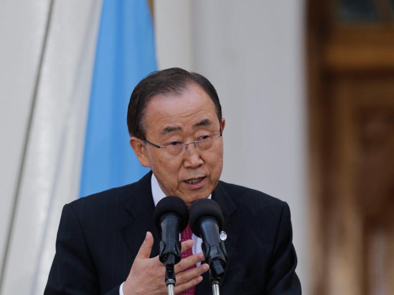 Bild zu Ban Ki Moon