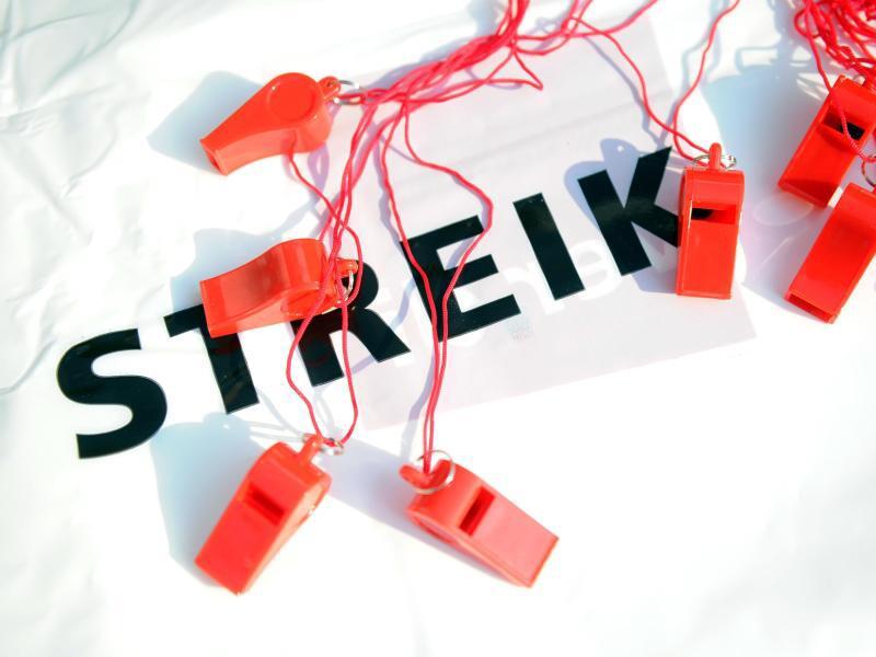 Bild zu Kein Ausgleich für Streikende