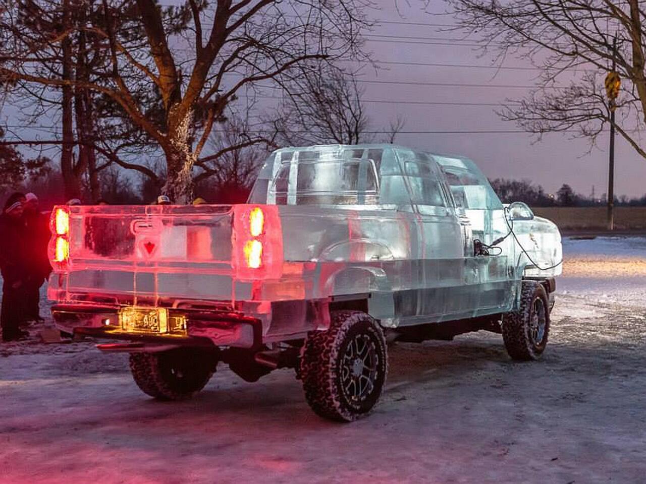"""Bild zu Genie und Wahnsinn liegen nah beieinander: Der Canadian Tire """"Ice Truck"""""""
