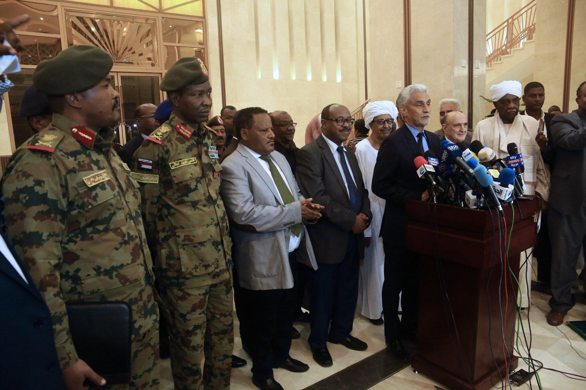 Bild zu Verfassungserklärung im Sudan