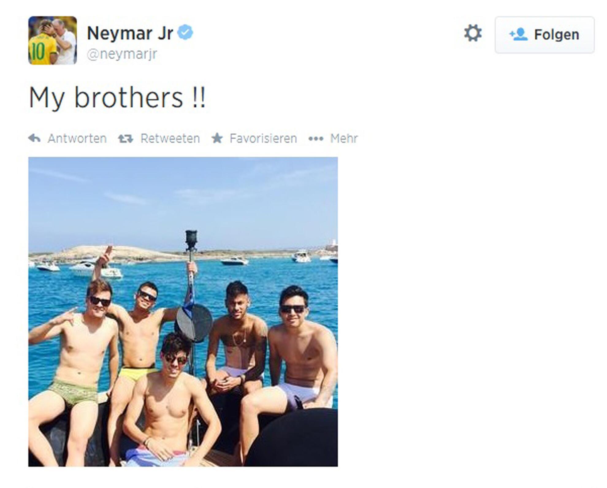Bild zu Neymar (Brasilien)