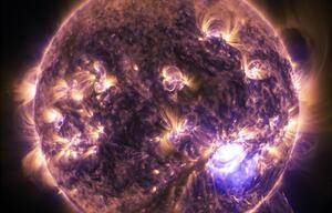 Die Sonne fasziniert die Menschen.
