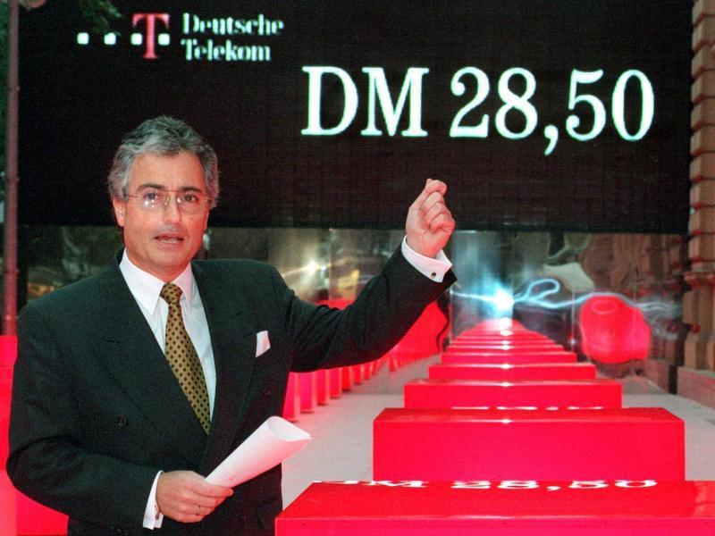 Bild zu Börsengang der Telekom