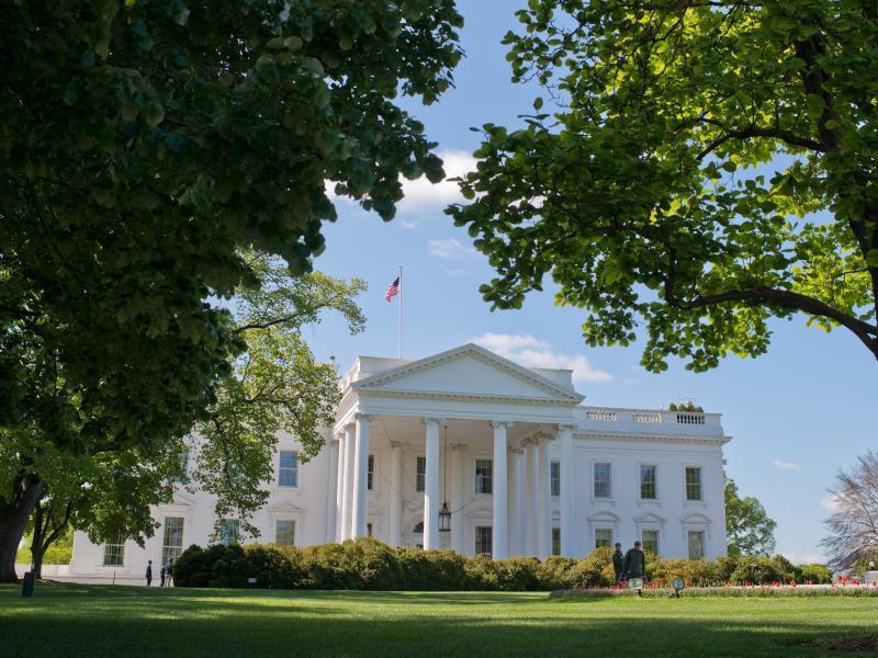 Bild zu Das weiße Haus in Washington