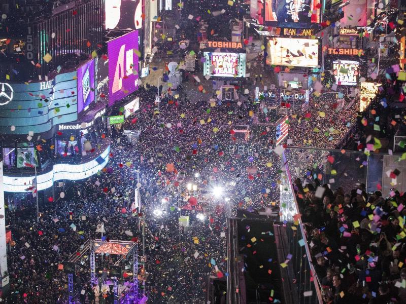 Bild zu Jahreswechsel in New York