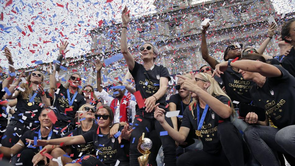 Fußball-Weltmeisterinnen in New York