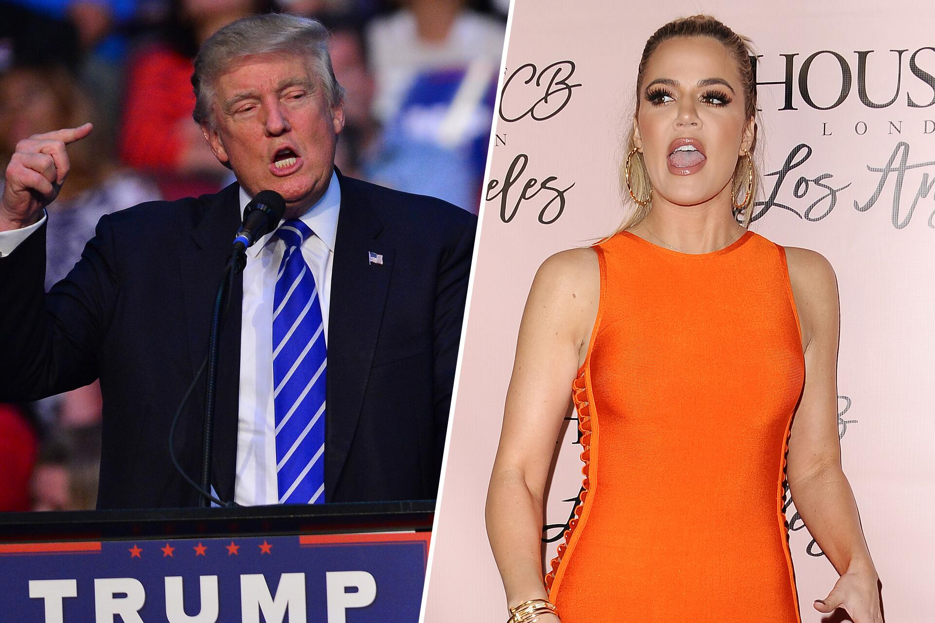 Bild zu Donald Trump, Khloé Kardashian