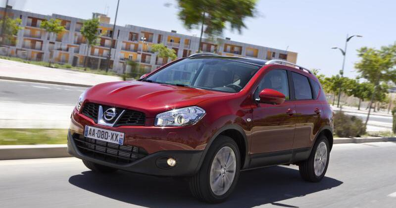 der nissan qashqai offenbart auf dem pr fstand probleme web de. Black Bedroom Furniture Sets. Home Design Ideas