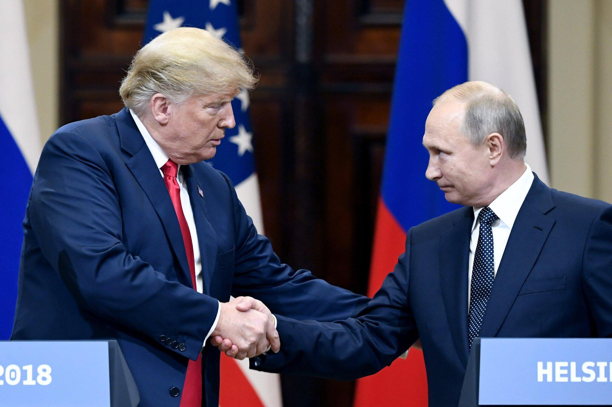 Bild zu Donald Trump, Wladimir Putin, Helsinki, Gipfel, USA, Russland