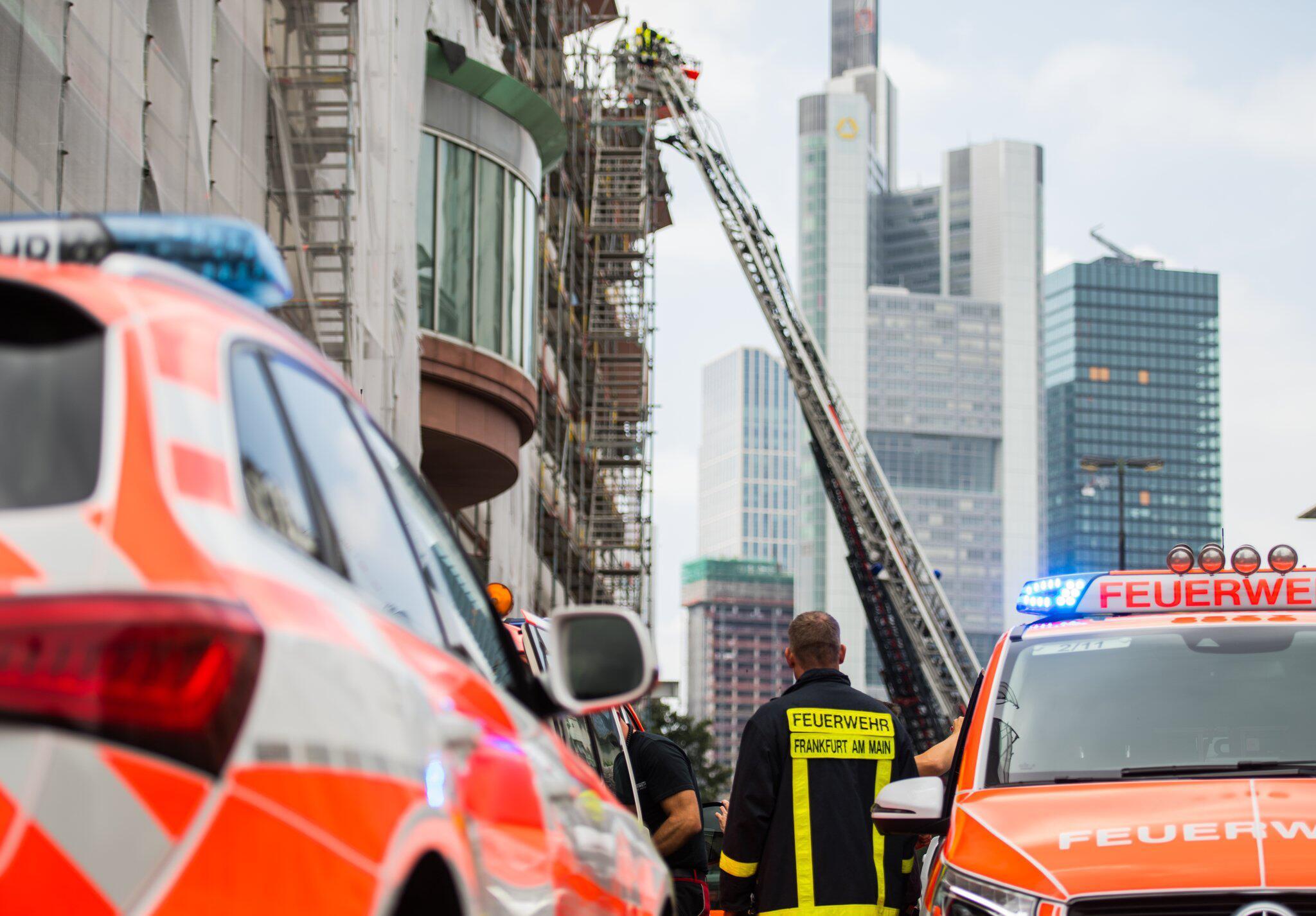 Bild zu Fire in the Frankfurt Museum of Modern Art