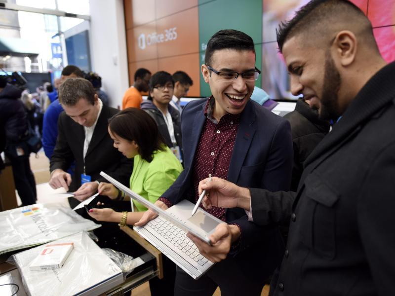 Bild zu Flagshipstore von Microsoft Store in New York