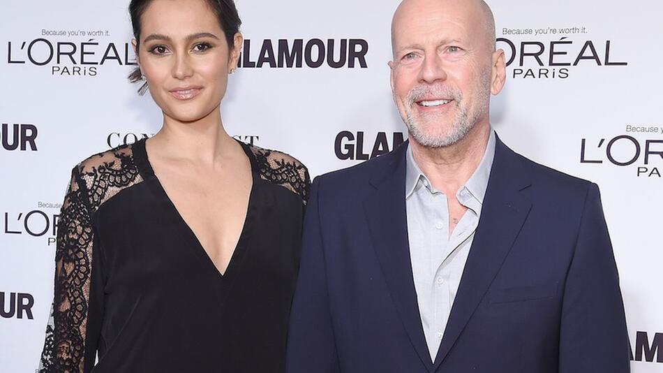 Bruce Willis und Emma Heming bei einer Veranstaltung in New York