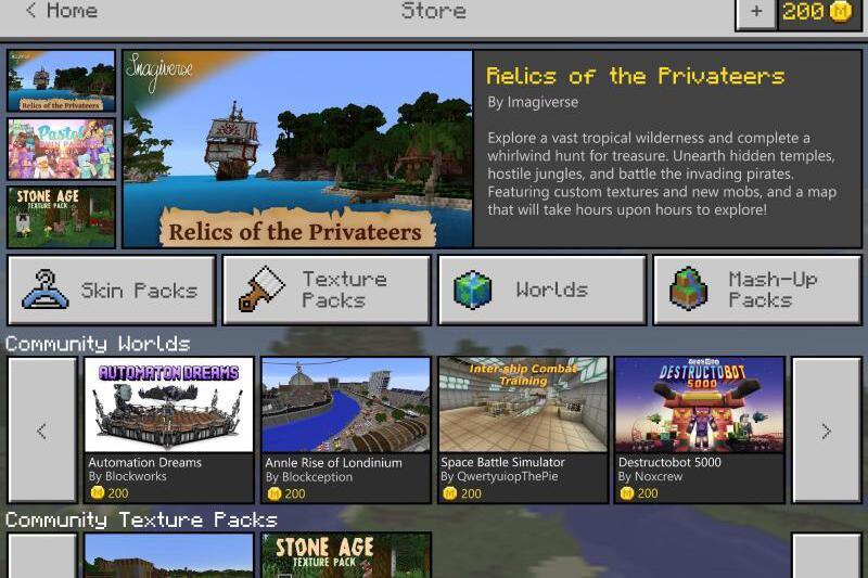 Minecraft Bekommt Marktplatz Für SpielerKreationen WEBDE - Minecraft spieler online