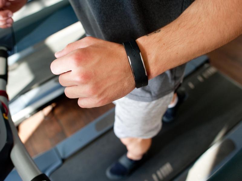 Bild zu Training mit Fitness-Tracker