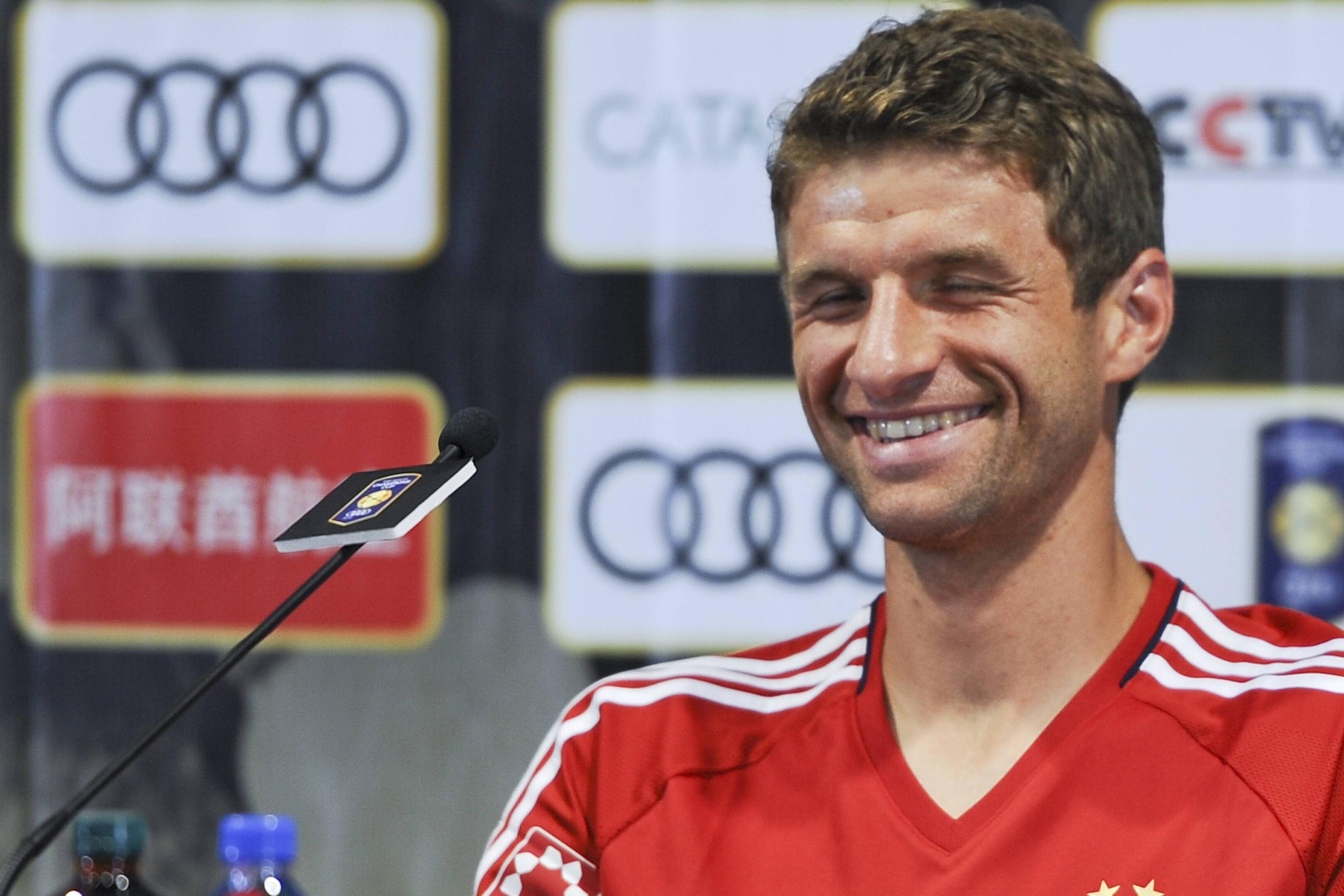Bild zu FC Bayern München, Thomas Müller, Shanghai, Trainingslager