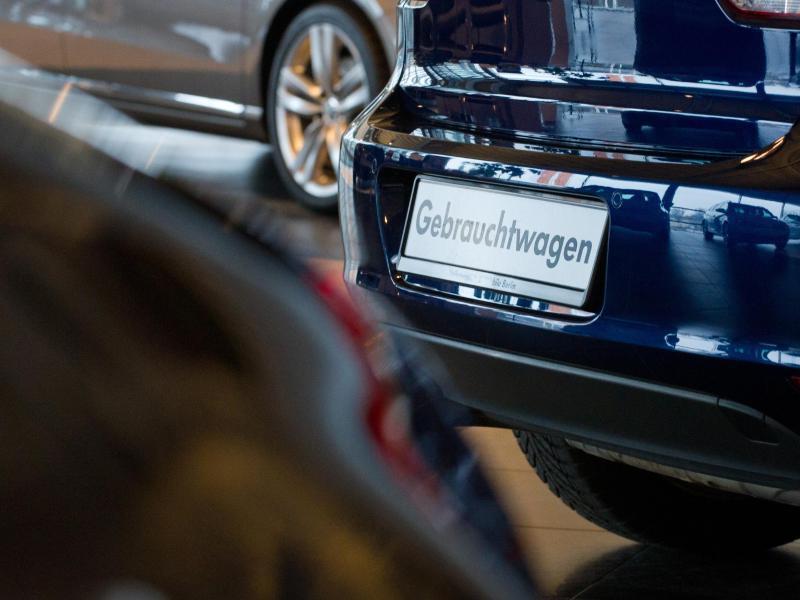 Bild zu Untersuchung von Gebrauchtwagen
