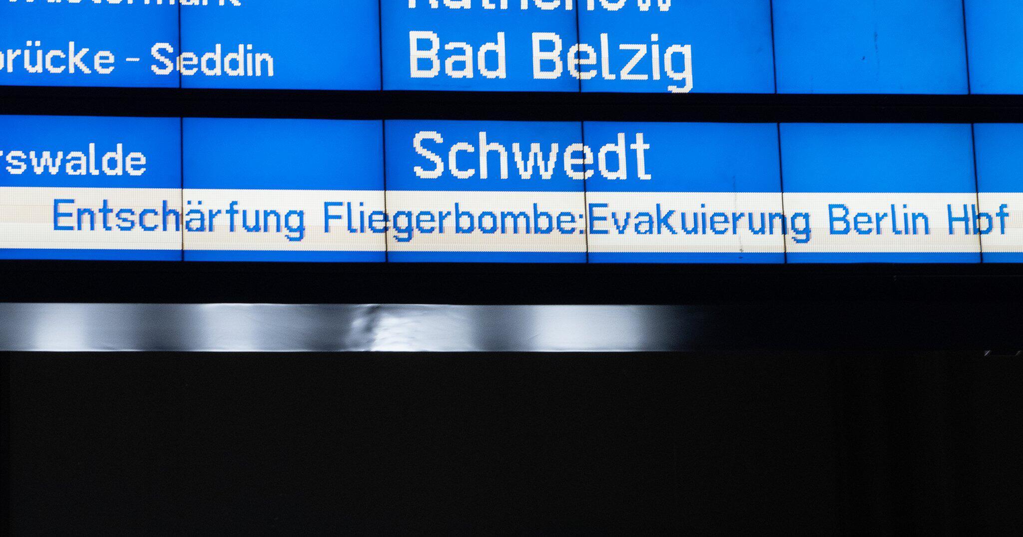 Bild zu Bombenentschärfung in Berlin