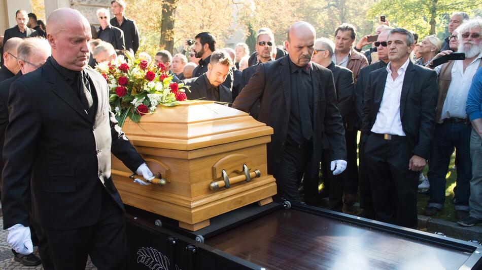 Boxing: Funeral service Graciano Rocchigiani