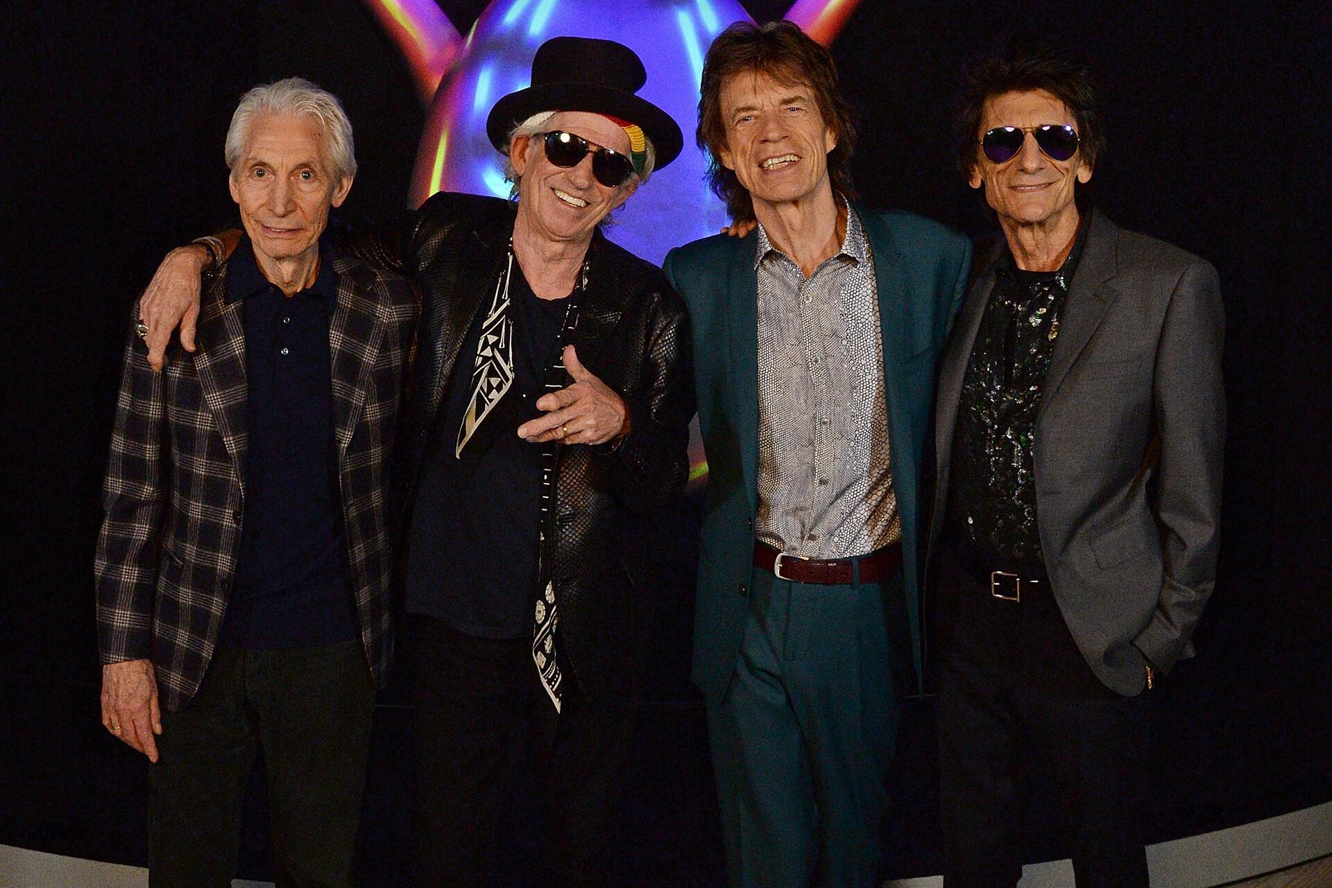 Bild zu Charlie Watts, Keith Richards, Mick Jagger, Ronnie Wood, Rolling Stones, Album