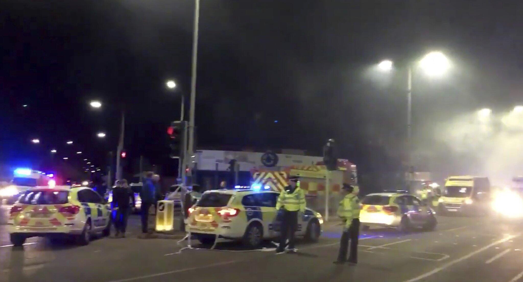 Bild zu Explosion in Leicester