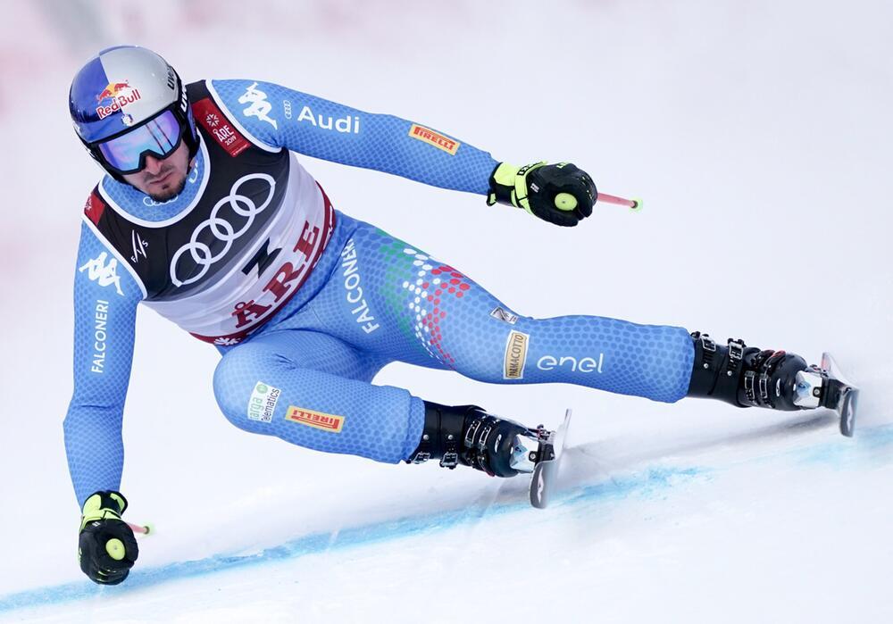 Ski alpin, WM, Are, Dominik Paris, Super-G