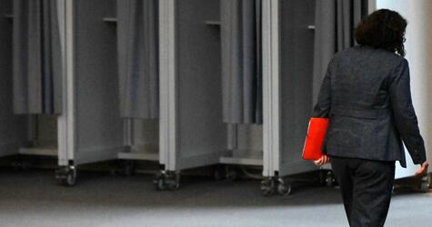 Andrea Nahles im Bundestag