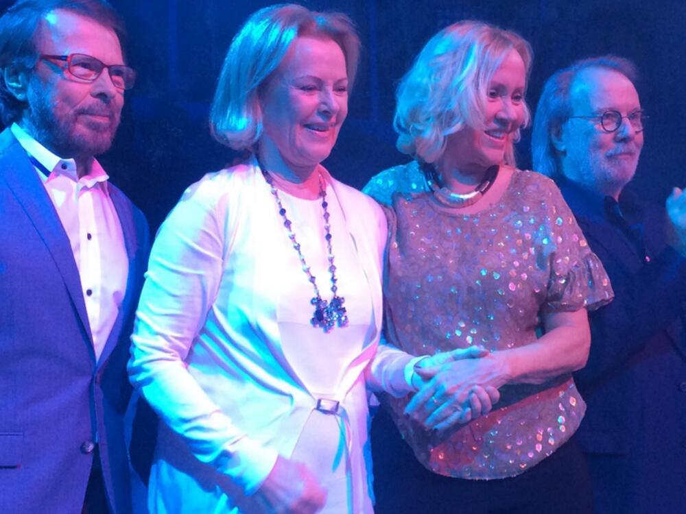 Bild zu Die Musiker von ABBA