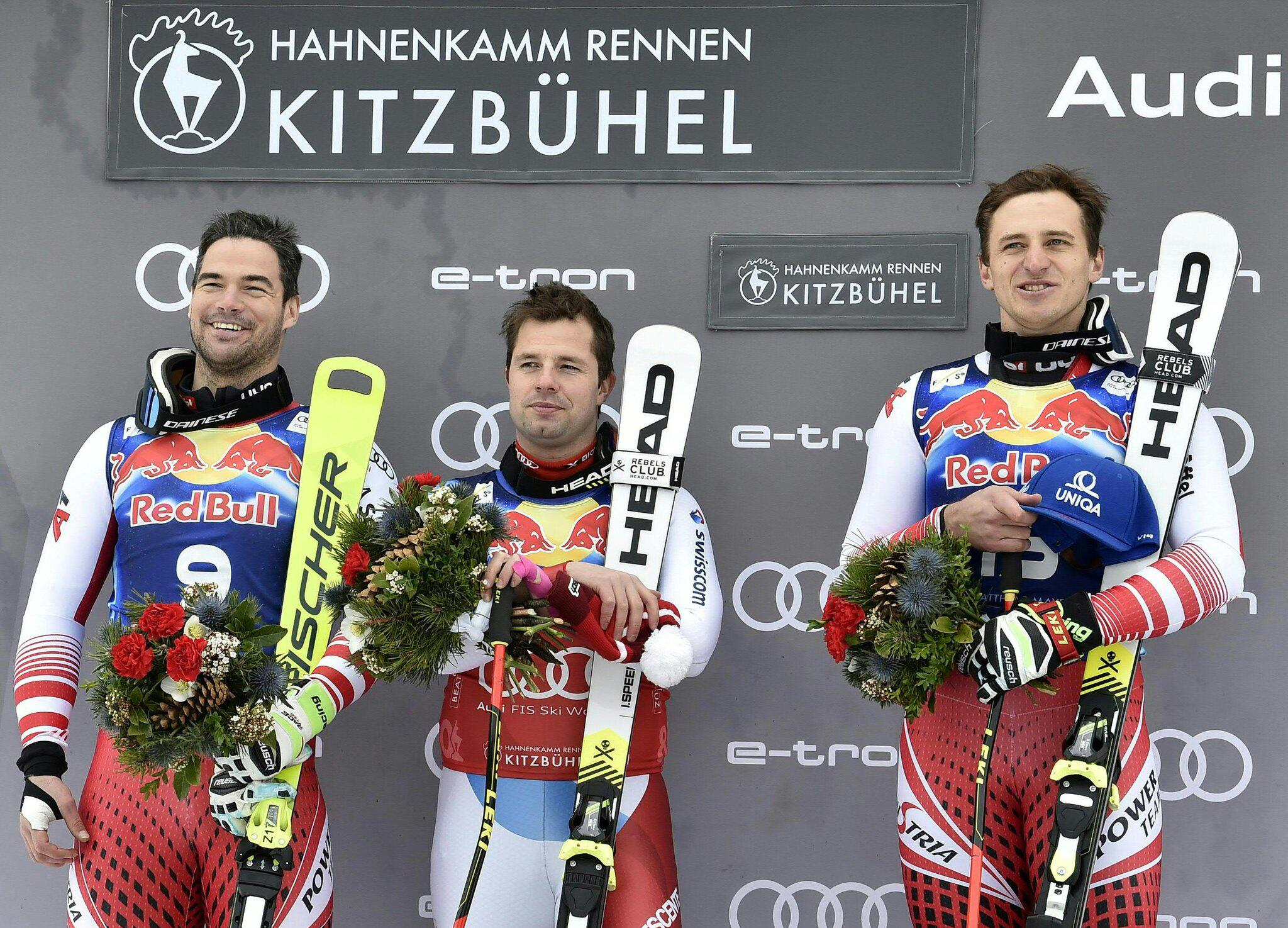 Bild zu Ski alpin: Weltcup in Kitzbühel