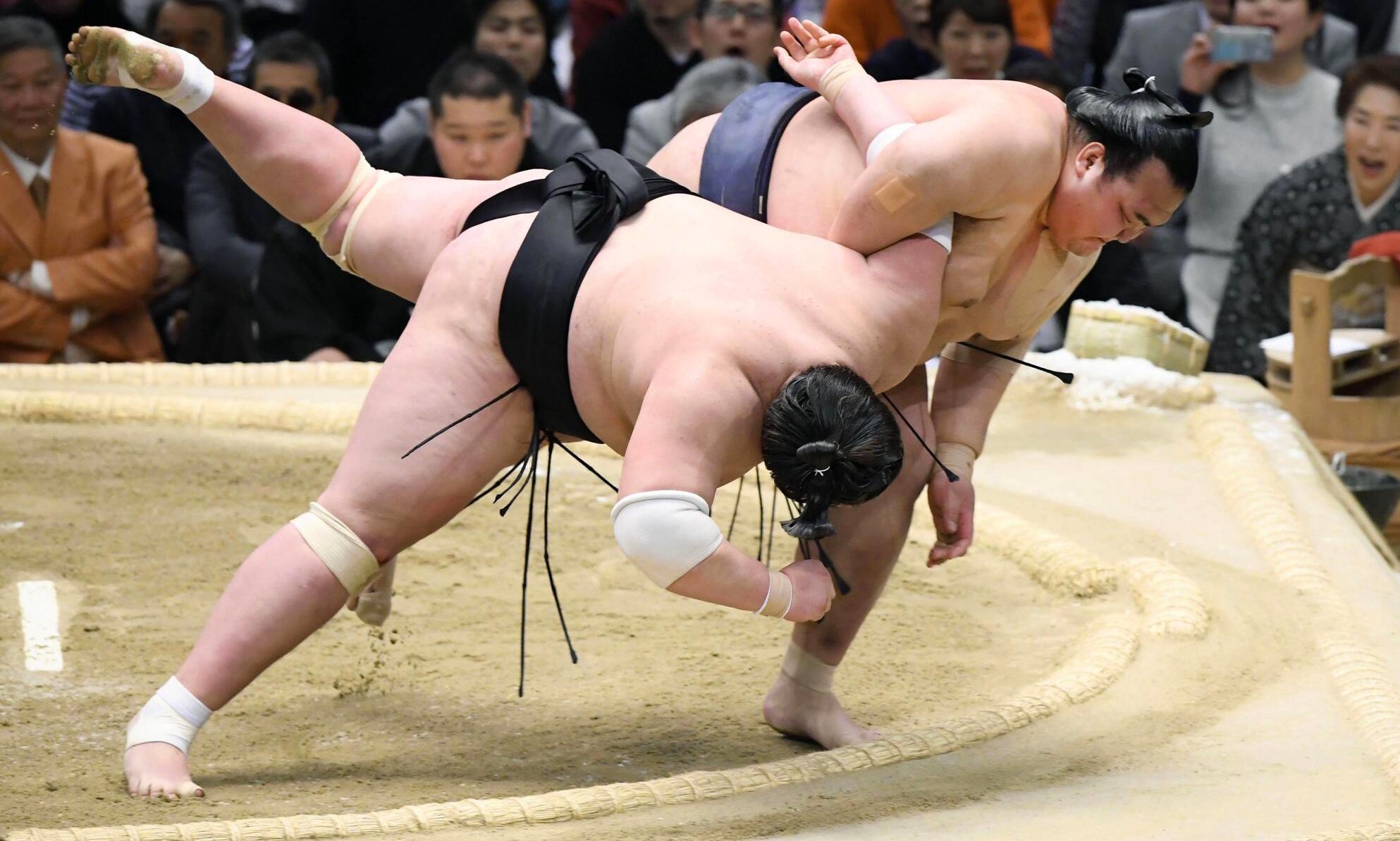 Bild zu Japans Sumo-Ringer werden immer schwerer - Gesundheitsprobleme