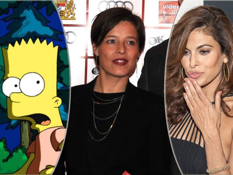 Bild zu Bart Simpson, Sandra Schwittau und Eva Mendes